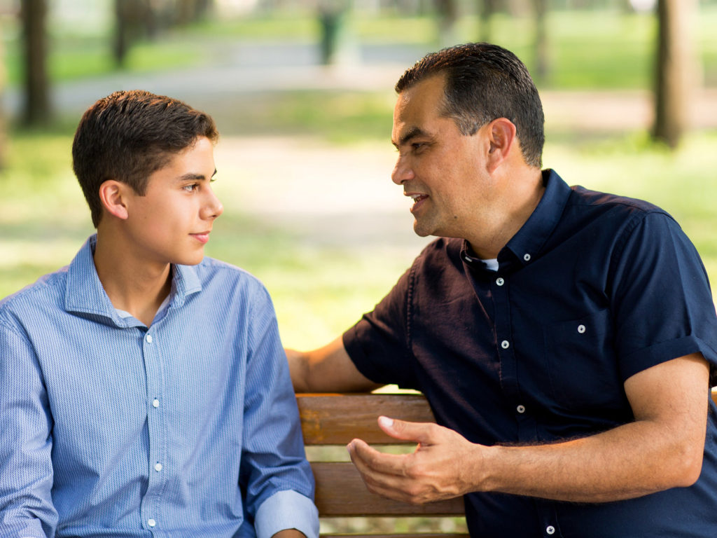 how to respond when our kids confide in us