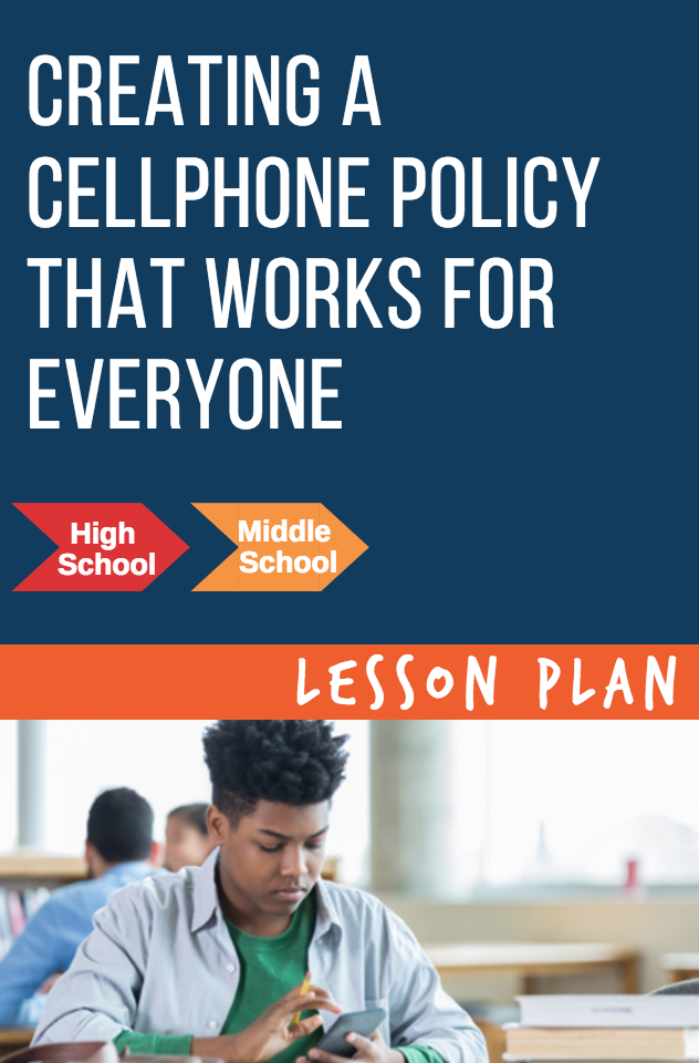 Social media and technology rules can be challenging for teachers and parents to get on the same page. Here is how to create a cellphone policy for everyone. Using students are resources, we can develop technology rules that the whole class can agree on.